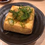 恵美寿屋 - 絶品、厚揚げ豆腐\(//∇//)\