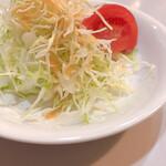 レストラン三幸 - サラダ