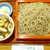 銀座 長寿庵 - 鴨せいろ(¥1100)。並盛でも、わりとボリュームがあるのは嬉しいポイント