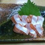 お茶のこ菜々 - 料理写真:サーモン刺し