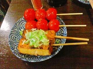 八九屋 - トマトと厚揚げ