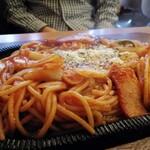 ポエム - ナポリタンスパゲッティ