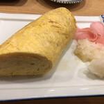 スタンドふじ - 巻き寿司みたいなだし巻き卵\(//∇//)\