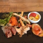 Ishigamarossashioriya - 前菜の盛り合わせ
