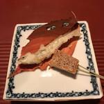 祇園迦陵 - ワカサギと松風
