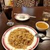 モエナモティ - 料理写真:激辛チキンキーマカレーチャーハン、アイスコーヒー