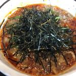 足立製麺所 - 辛汁もりそば650円税込