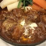 141819347 - トマトケチャップと玉ねぎの甘みと酸味が効いた濃厚ソース!