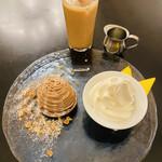 シャンデリア テーブル - Cafe set