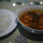 アリマハール  - 料理写真:海老のスープカレー