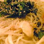 カーバンクル - 菜の花と海老のさっぱり和風パスタ