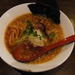 双麺 - しょうゆ(メンマ増し)