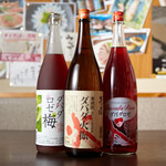 高知直送食材と地酒 どればー高知 - 焼酎ダバダ3種