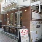 カフェ マメヒコ - お店は三軒茶屋駅からすぐのところにあります。
