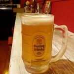 Kicchinnananisan - 生ビール:450円