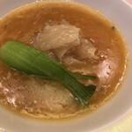 中国料理 翆陽 - フカヒレ煮込み 上海蟹味噌仕立て