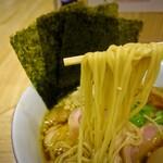 中華そば ムタヒロ - 特製醤油そば1,000円の麺、この麺、本当にリアルガチにヤバイ美味さでした。