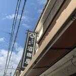 沼田屋 - 看板