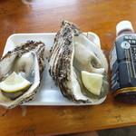 ヤマサ鮮魚本店 - 2012-08黒烏龍と岩牡蠣