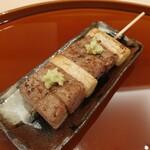 鮨 土方 - これが昔からの本来のネギマですね