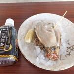 マルジン - 料理写真:岩牡蠣と黒烏龍