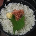 駿河亭 - 駿河紅白丼