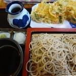 藤田 - 料理写真:もり揚げそば:980円