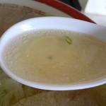 みつい食堂 - スープはこんな感じ