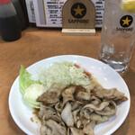 酒蔵一平 - 生姜焼きと酎ハイ