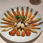 シェフス - 蒸し上海蟹