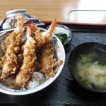 池田 - 天丼えび4本入り 1000円