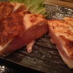 14186837 - 大山鶏 刺身ステーキ定食