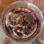 Bar GRANVIA - 魚介のパエージャランチ 1000円 のアイスコーヒー