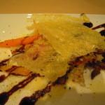 Trattoria VICINO - 白トリッパと鴨肉、焼き野菜の盛り合わせ(温前菜)