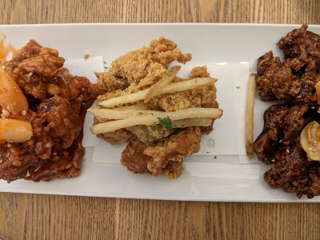 韓国料理 サムシセキの料理の写真