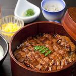和食処 四季亭 - 料理写真:穴子ひつまぶし御膳「尾道おひつ」