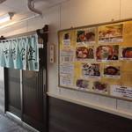 塩竈市場食堂 - 入口です