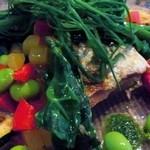 メルカート - このながっぽそい野菜はなんだかネバネバしてました♪