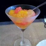 メルカート - オレンジとグレープフルーツのジュレ