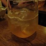 こふく - ドリンク写真:紅茶梅酒 ソーダ割り