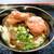 ゴッドハンド - 料理写真:唐揚げカレーうどん(カレーうどん+唐揚げ)