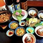 旬彩 心陣 - 冬の宴コース
