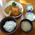 大橋 - 料理写真:ロースかつ定食