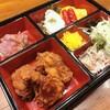 肉好き食堂さかほん - 料理写真:からあげ定食はお弁当スタイルで!