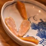 浜貞 - 自家製カラスミ九州産(1350円+税)2020年11月
