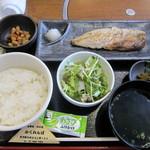 倭食処 かくれんぼ - 焼き魚定食(735円)
