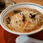 よこはま風ラーメンめんふく - 料理写真:サンマーメン700円