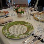 レストラン シャフォンテ - テーブルセッティング