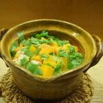 141903176 - 食事:かぼちゃの炊き込みご飯