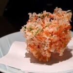 141903205 - 桜海老と三つ葉のかき揚げ 小